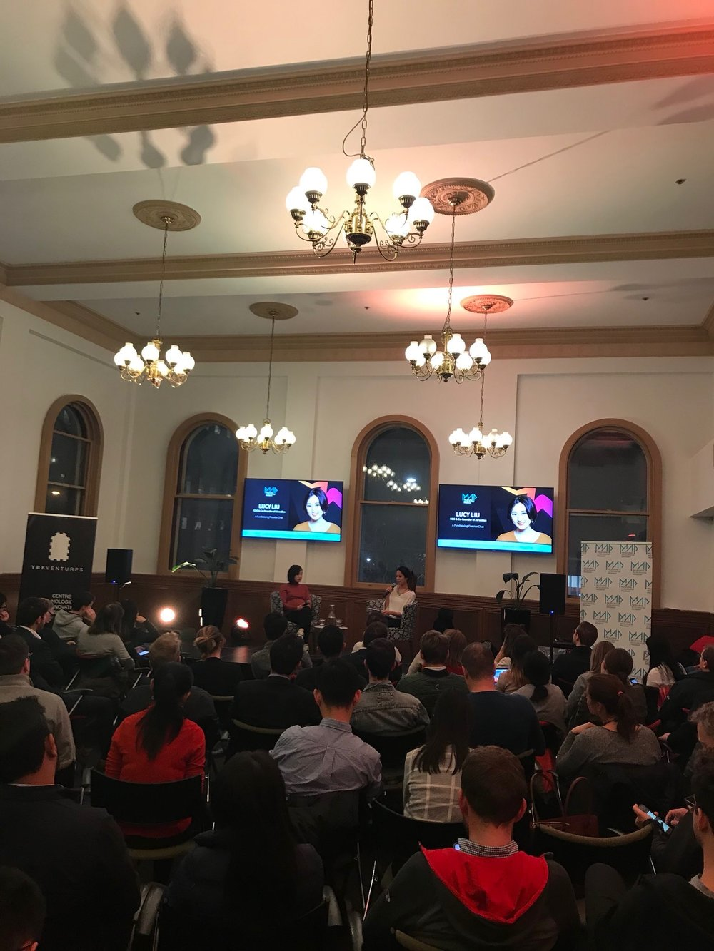 PitchX Winter Event in Melbourne.