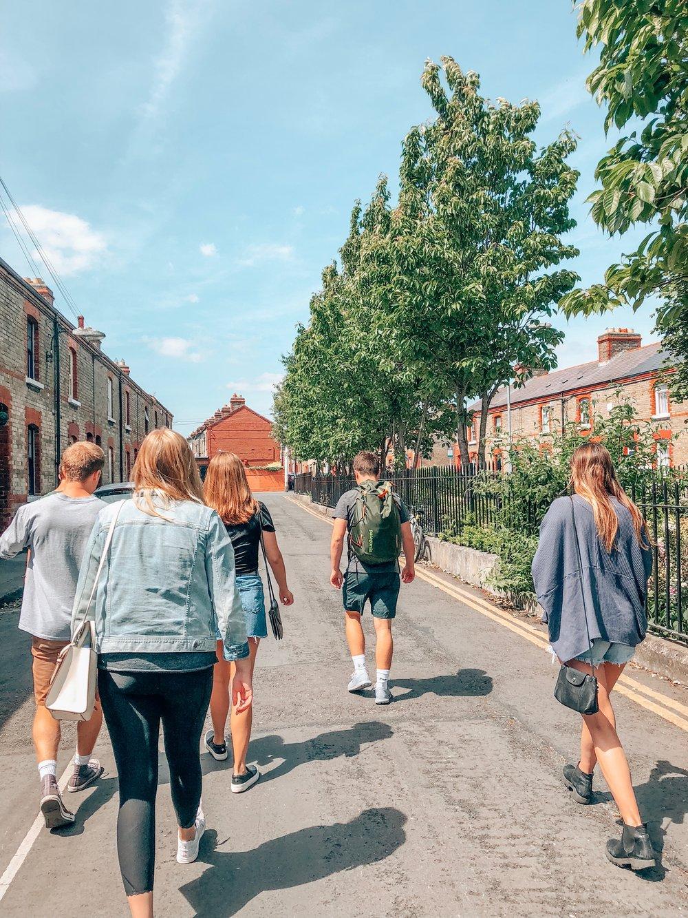 Dublin Walking Commute