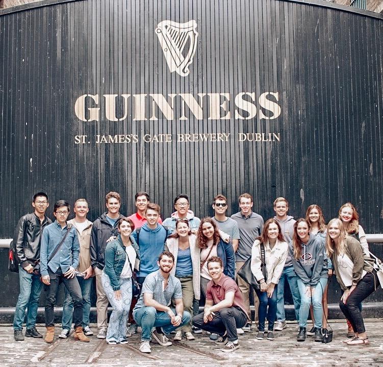 Cohort at Guinness Factory Dublin