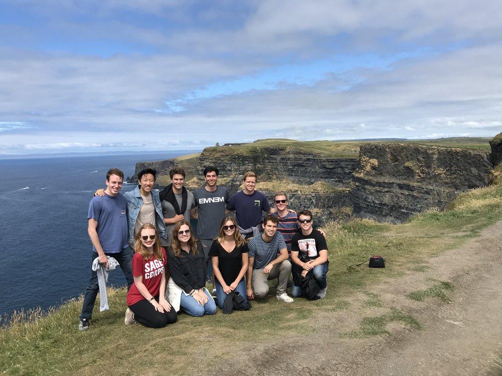 Dublin Cohort at Cliffs of Moher