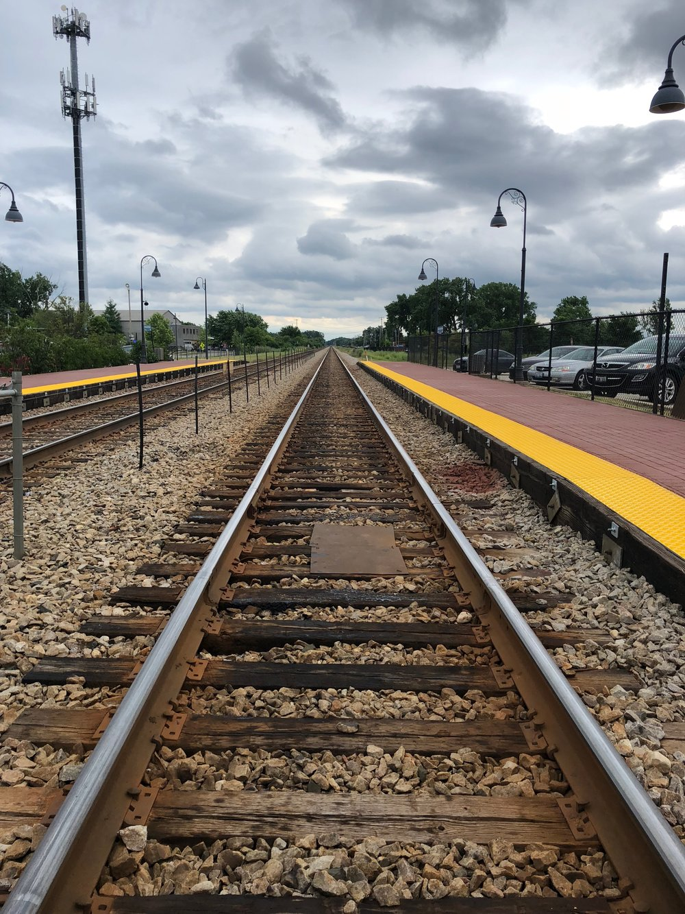 The Metra is another common way to commute - typically from the suburbs.