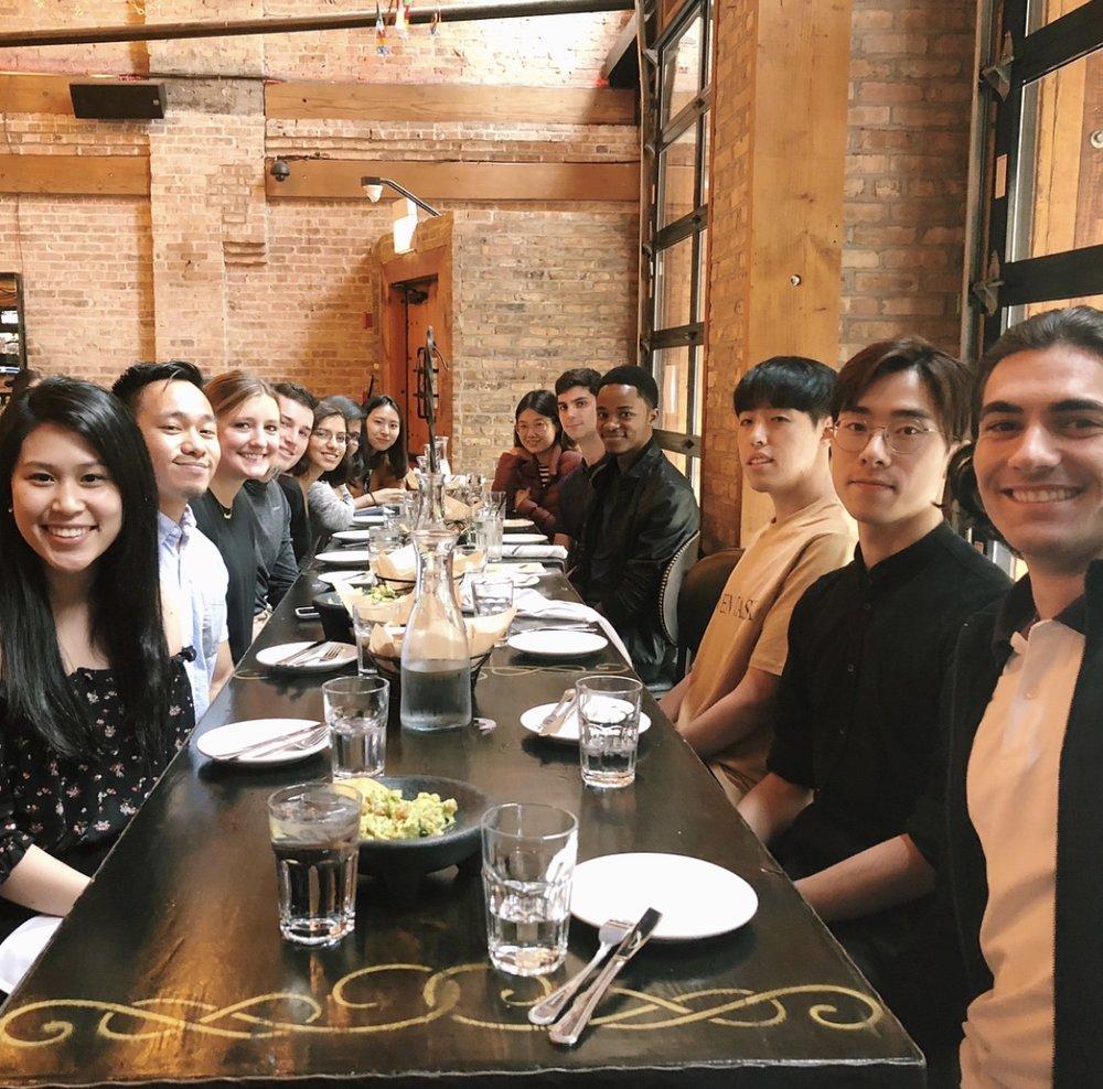 Chicago-Intern-Dinner