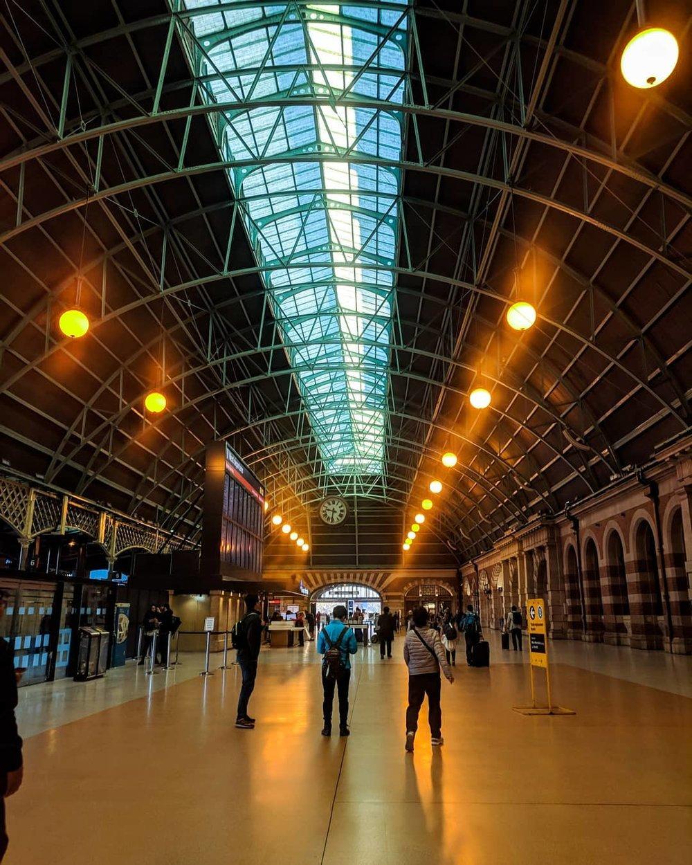 Train station in the Sydney CBD - courtesy of Sage Corps Sydney 2018 fellow, Avia.