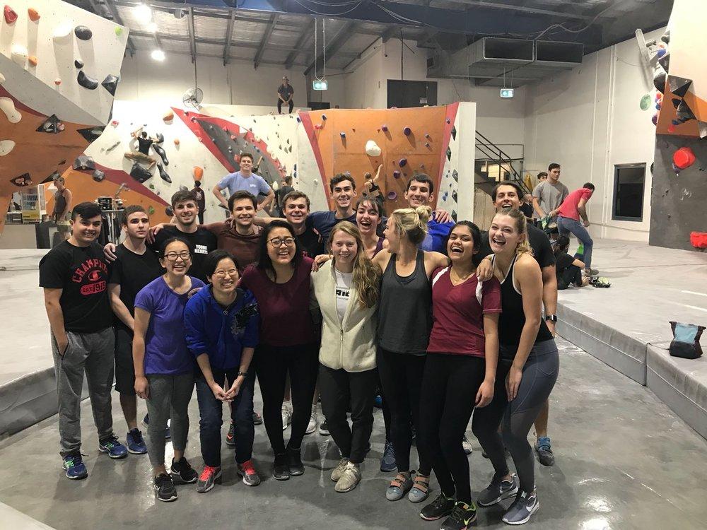 Sydney Cohort Bouldering