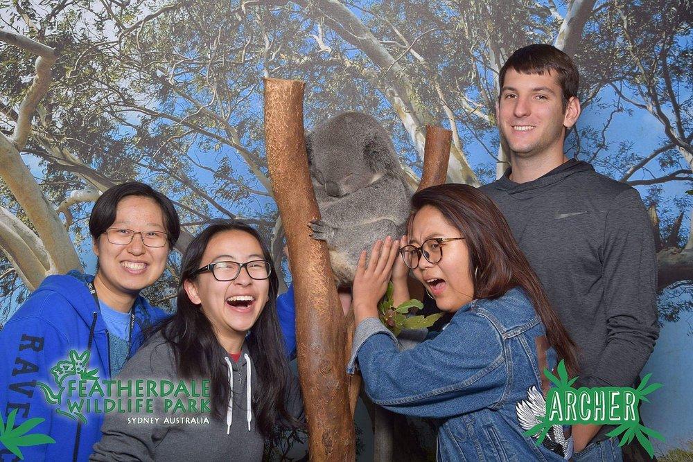 Sydney Fellows with Koala