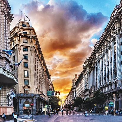 Buenos Aires - Summer: $5,699 (June 12-August 7)Winter: $2,499 (January 2-12)