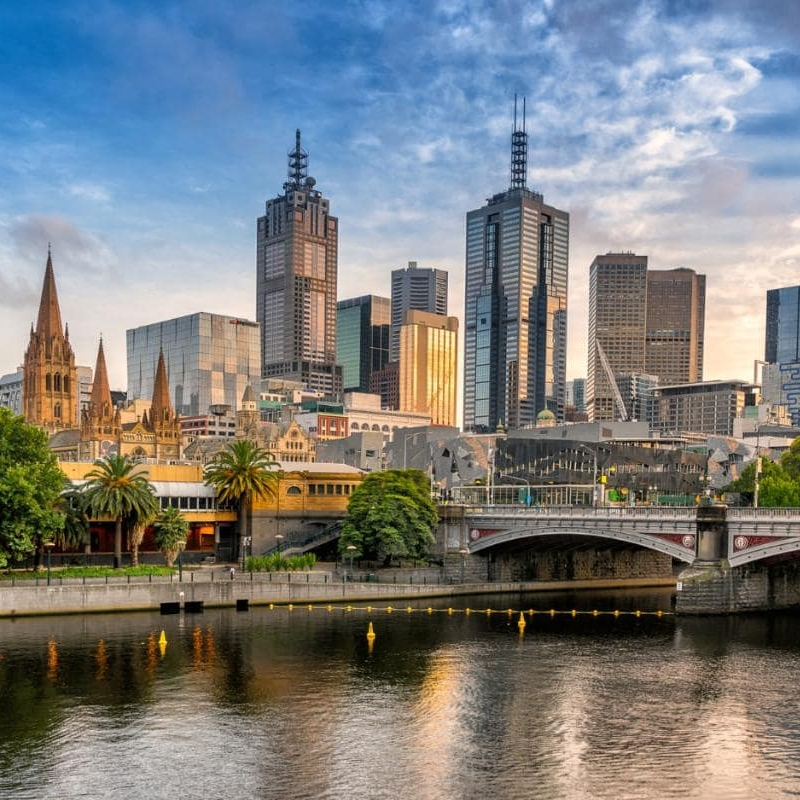 Melbourne - Summer: $6,799 (June 15-August 10)