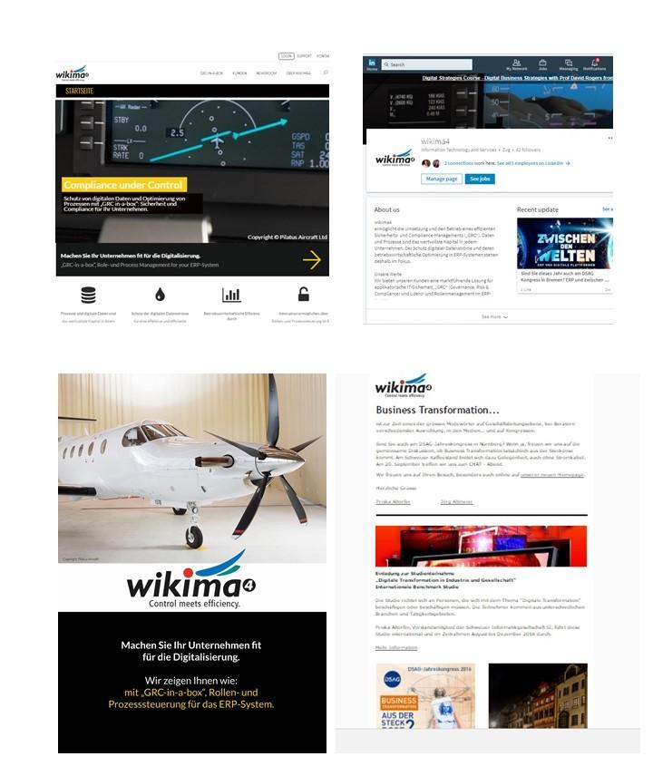 wikima4 AG - wikima4 entwickelt und vertreibt seine eigene Softwaresuite zur Steuerung von Governance, Risiken und Compliance in ERP-Systemen (