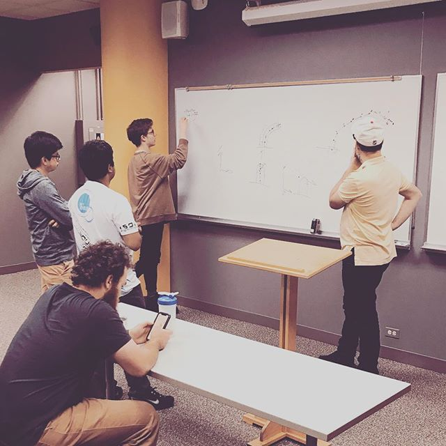 Monday funday! Solving the real problems. #gamedesign #gamedev #appleAR #games #meeting #arkit