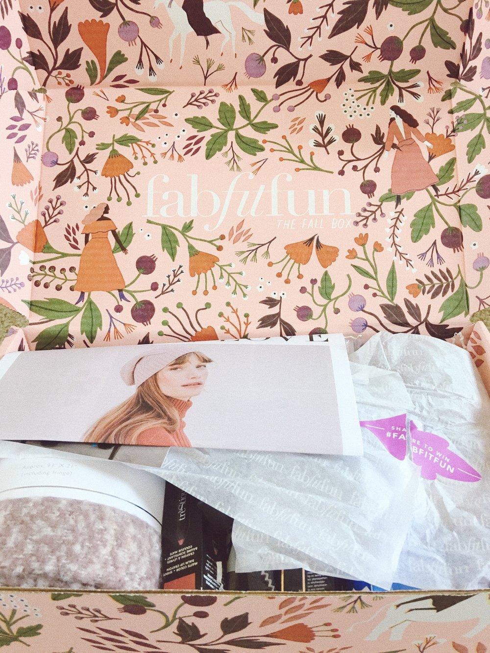 Girlfromplaya.com FabFitFun Fall 2017 Box