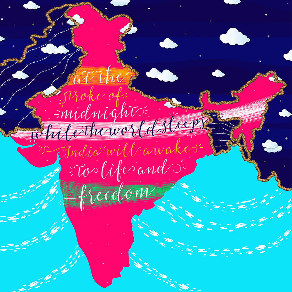 """1947 :  """"The year of independence, war and so much more."""" ~  Aprajita Chowdhury"""