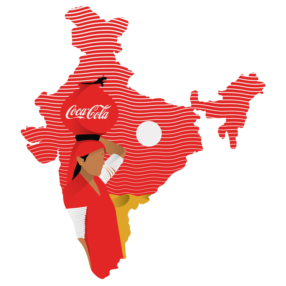 "1993 :  ""The year Coca Cola re-entered the Indian market after a 17 years of absence. The Coca-Cola company walked out in 1977 after the elected government demanded  them to partner up with an Indian entity. In the early-1990s, when India began to open up its economy to foreign investments, Coke started plotting a strategy to re-enter the fast-growing market and partnered with Parle group."" ~  Rohan Jha"