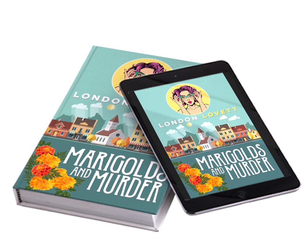 Be the first to read - For a limited time, you can claim a FREEadvanced review copy of my upcoming release, Marigolds and Murder. Sign up below: