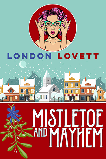 mistletoe and mayhem - Port Danby is preparing for the annual Harbor Holiday Lights Flotilla, and Lacey 'Pink' Pinkerton is anxious to see the colorful boats light up Pickford Beach. But the festive spirits of the town are dampened when one of the boat owners is strangled to death. Lacey enthusiastically volunteers to help Detective Briggs sniff out the clues and track down the killer. Once again, she finds herself nose deep in a murder mystery.Read on: Amazon iBooks Nook Kobo Google