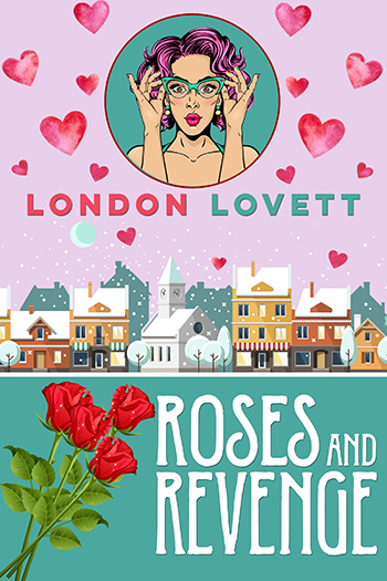 Roses and Revenge - When the Georgio's Perfume crew, including her ex-fiancé Jacob, show up in Port Danby for a photo shoot, Lacey is taken by surprise. But their unexpected arrival is nothing compared to the shock of what happens next. With Valentine's Day just around the corner, Lacey 'Pink' Pinkerton finds herself caught up in another unexpected murder mystery.Read on: Amazon iBooks Nook Kobo Google