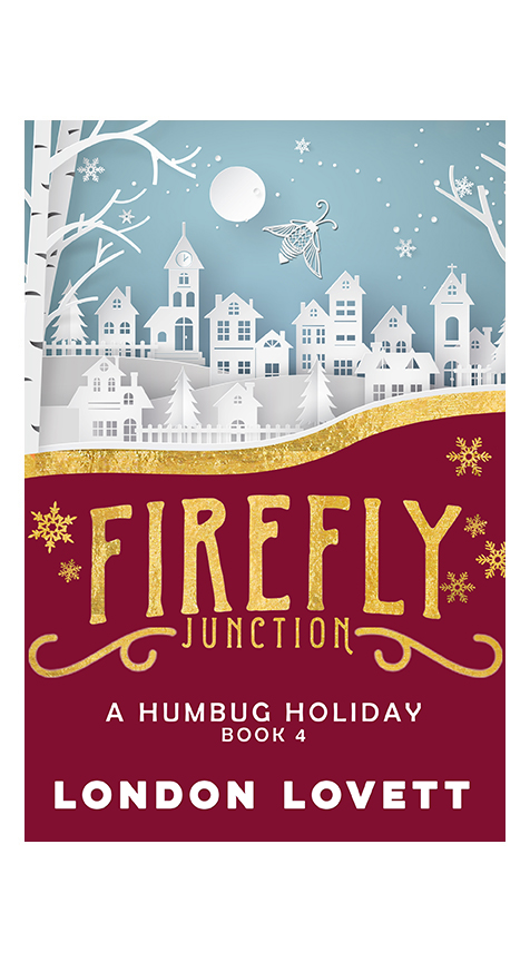 A Humbug Holiday - It's holiday time in Firefly Junction but not everything is sweet sugarplums and glittery tinsel.Sunni Taylor has been too busy to get into the holiday spirit, even with her mom coming to town for a visit. Her festive spirit gets a spark when Detective Brady Jackson asks her to attend the town's production of A Christmas Carol. But when the holiday classic takes a grim turn, Sunni's date night turns into a murder investigation. And in the middle of a winter festival, Sunni and Jackson must figure out who killed Ebenezer Scrooge.Coming December 2, 2018Pre-order on: Amazon iBooks Nook Kobo Google
