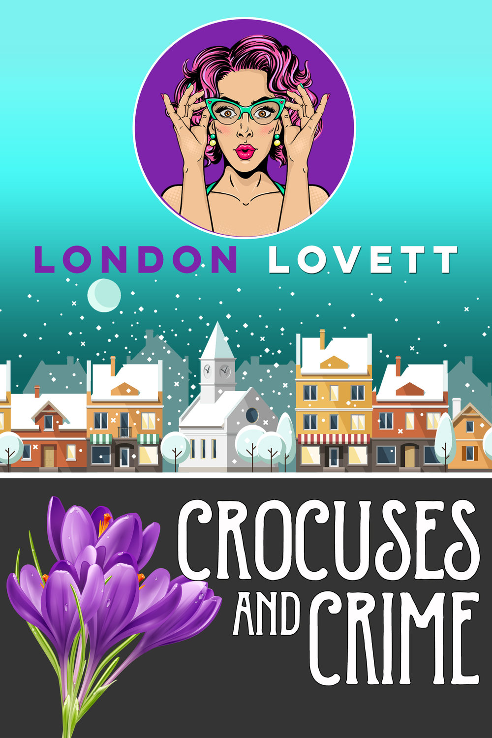 Crocuses and Crime - The new year is off to a smooth start. Pink's Flowers is doing well and Lacey is growing even closer to her wonderful boyfriend, Detective James Briggs. But when a local man is killed, one of Lacey's dearest friends is implicated in the murder. Briggs has asked her to step away from the case but Lacey is determined to find the real killer. Will her meddling cause irreparable damage to their relationship? Lacey must risk everything, including her heart, to find the truth.Read on: Amazon iBooks Nook Kobo Google