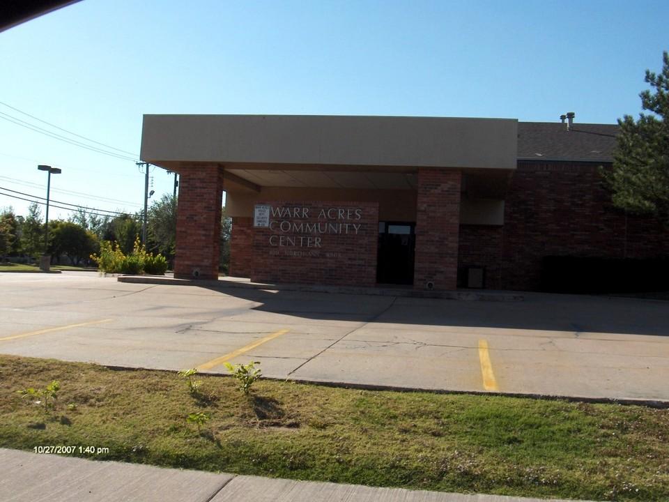 Warr Acres - Suburb of Oklahoma CityPopulation: 10,420