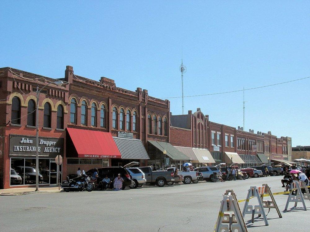 Anadarko - City in Caddo CountyPopulation: 6,762