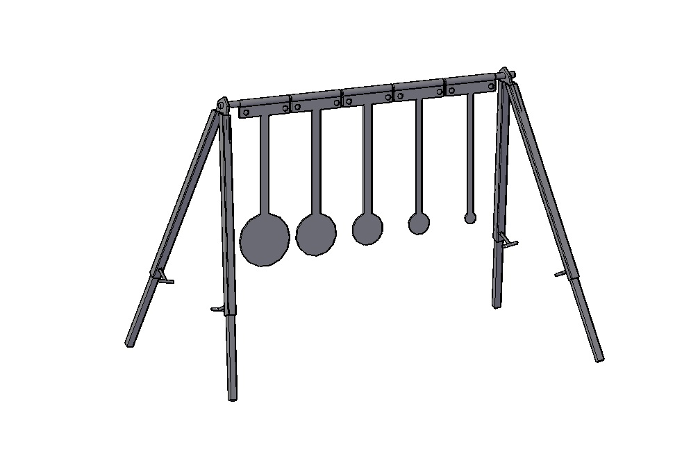 KYL RACKS - Know Your Limits Racks are commonly used in Long Range Practical, Tactical Matches to test a shooters confidence and ability. The target is usually set at a distance around 300 yards, and the goal is to shoot the largest target first, then move down the line. The shooter gets 1 point for each target, however if there is a miss, the shooter gets no points. Knowing when to stop is the key!