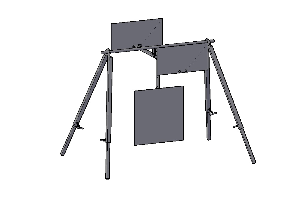 Long Range Flasher - At extended ranges it is often difficult or impossible to call hits, even on steel that is painted white. This system is designed to