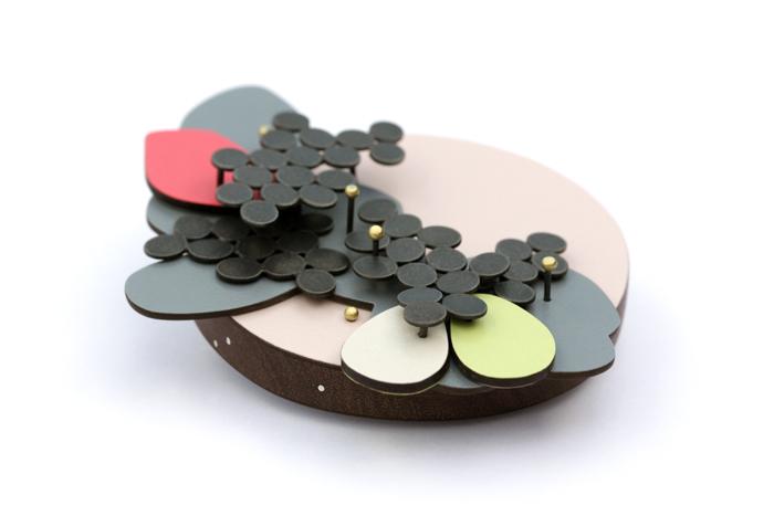 Blossom-brooch