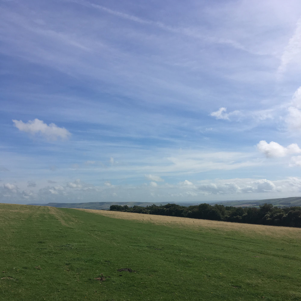 Walking to Lewes