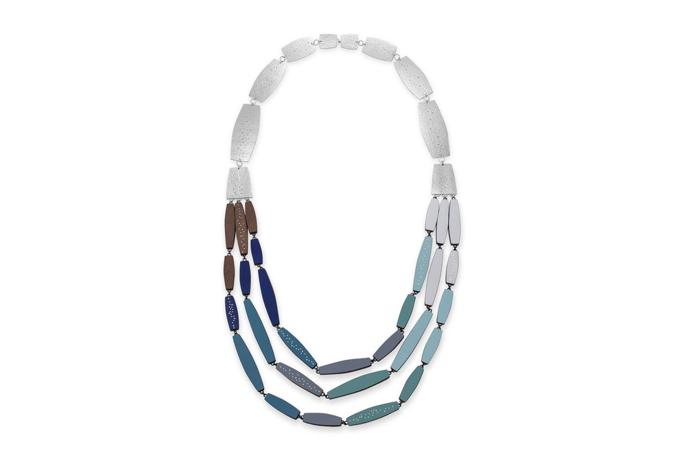 Long tapered necklace, 2019