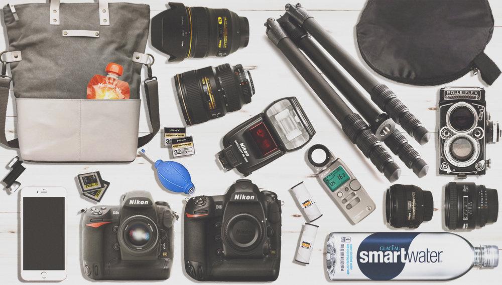 Camera Bag contents