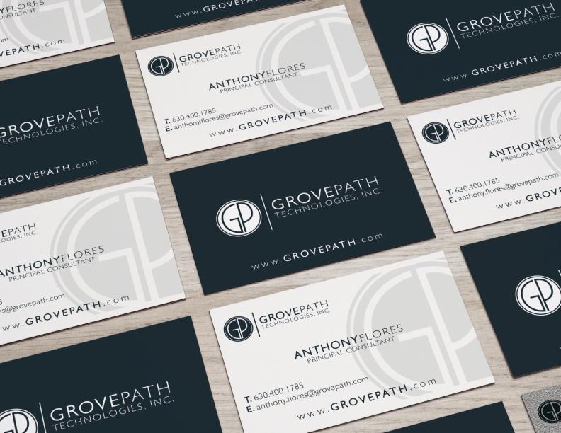 GROVEPATH TECHNOLOGIES BUSINESS CARD