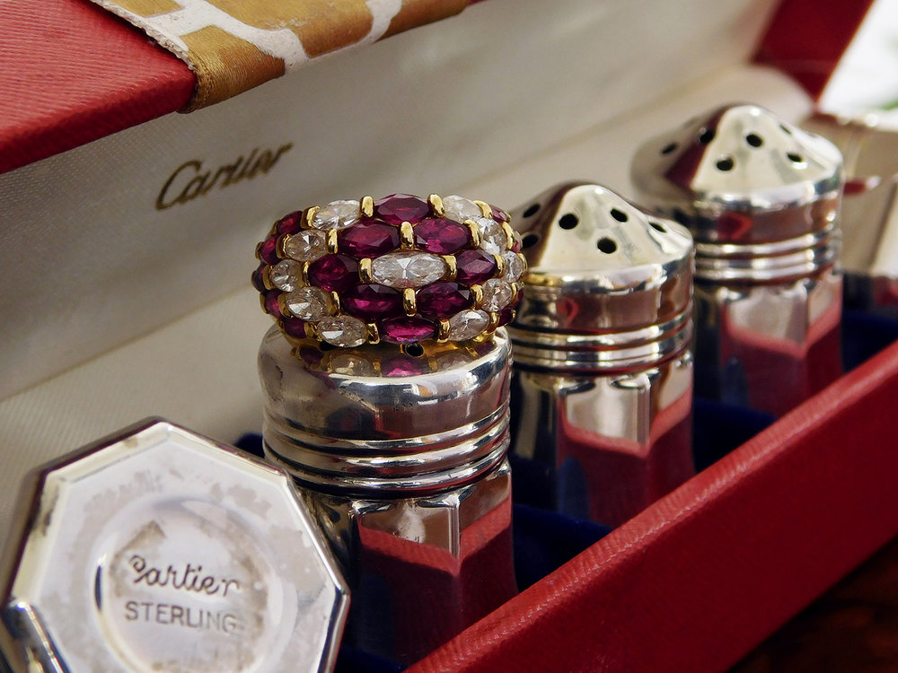 Cartier Saltshaker Collection