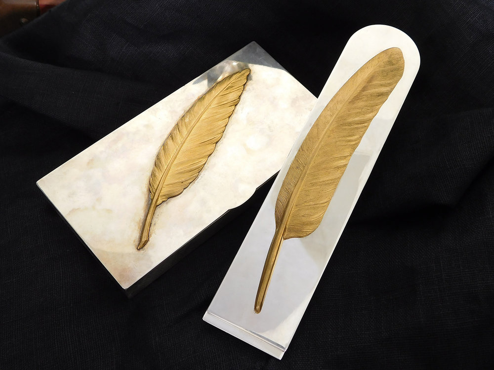 Hermes Feather Desk Set
