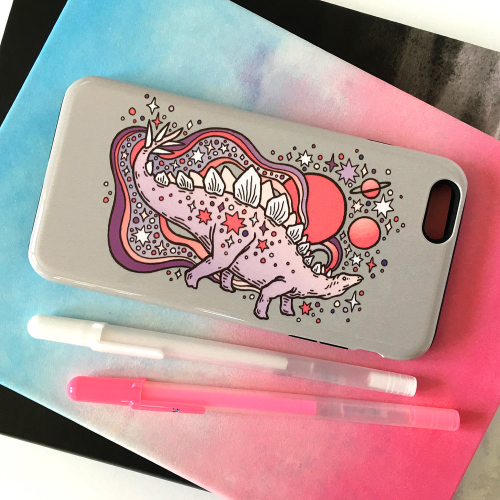 Star Stego   phone cases at the OMEGAFAUNA Redbubble shop