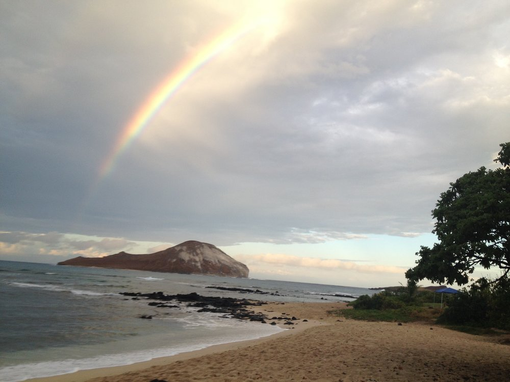 Hickam Beach, 60 years after Pearl Harbor