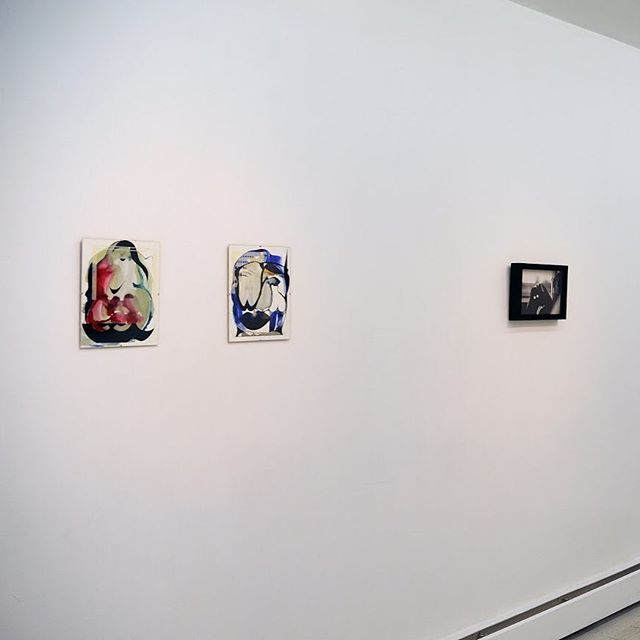 Install shots! #exhibition #art #nyc #lanchunghsuan #annettehur #painting #photography #pratt #saicalumni #saic #sendyourlocation #popup #emergingartists #artexhibition
