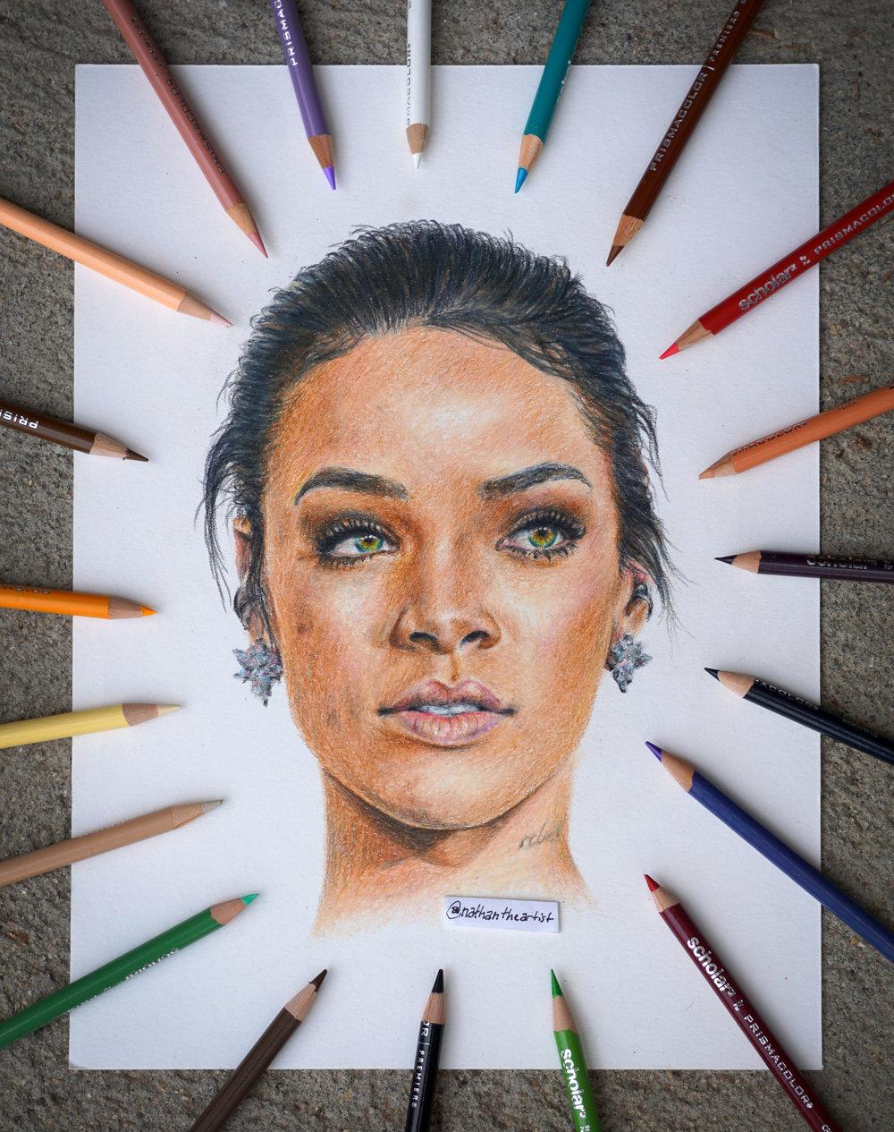 Rihanna - Colored Pencil ■ 11
