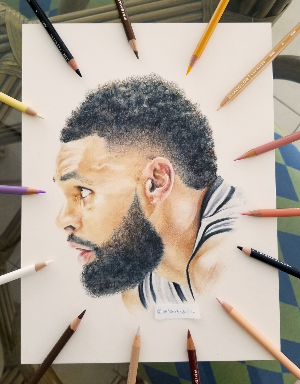 Patty Mills - Colored Pencil ■ 11