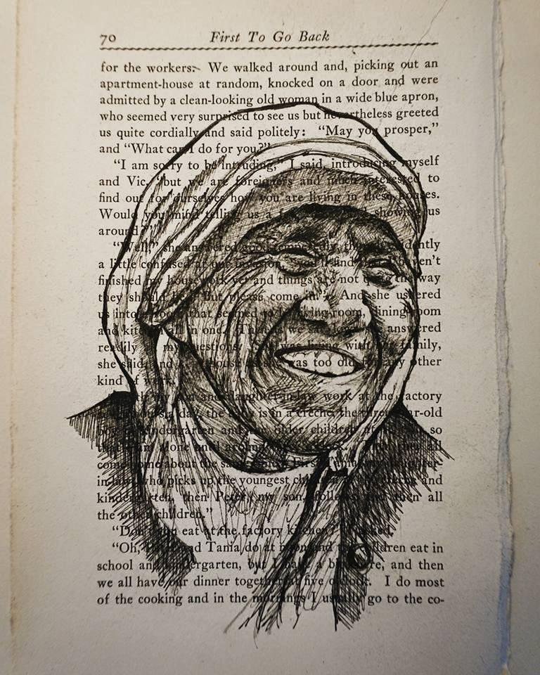 Mother Teresa - Ink ■ 5