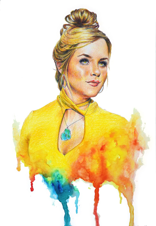 Yellow - Colored Pencil, Watercolor ■ 11