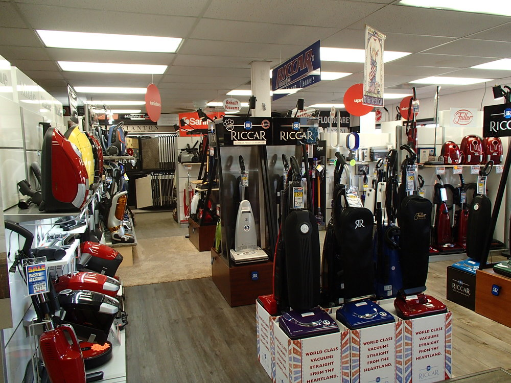 We carry a LARGE variety of vacuum cleaners from top brands including