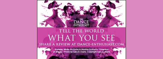 Dance Enthusiast, review, interview, Julia K. Gleich, Brooklyn Ballet