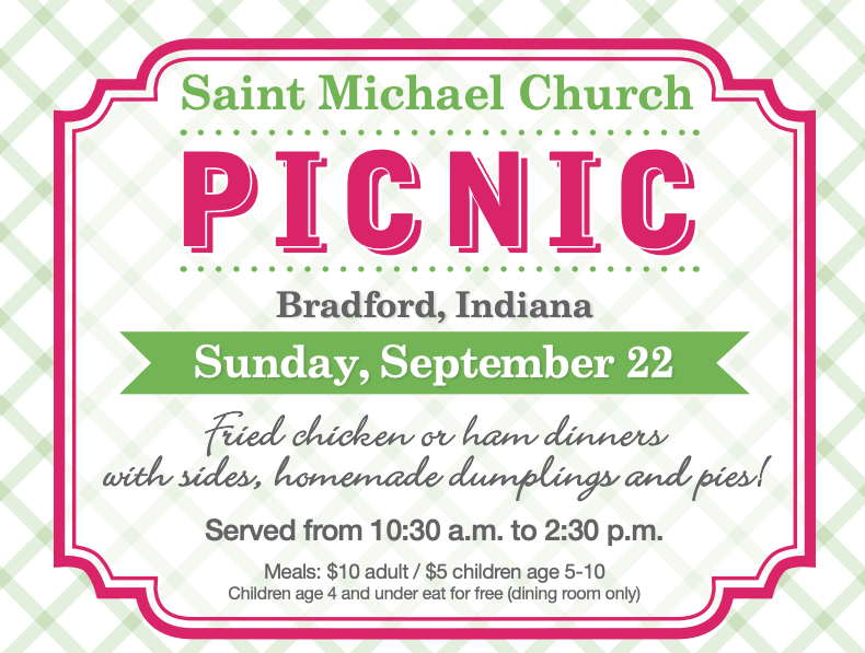 St  Michael Church Picnic — Catalyst Catholic