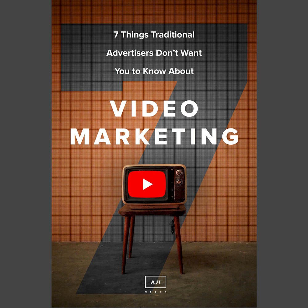 "you're awesome. - We hope you enjoy our free eBook ""7 Things Traditional Advertisers Don't Want You To Know About Video Marketing"".Feel free to contact us if you have any questions."