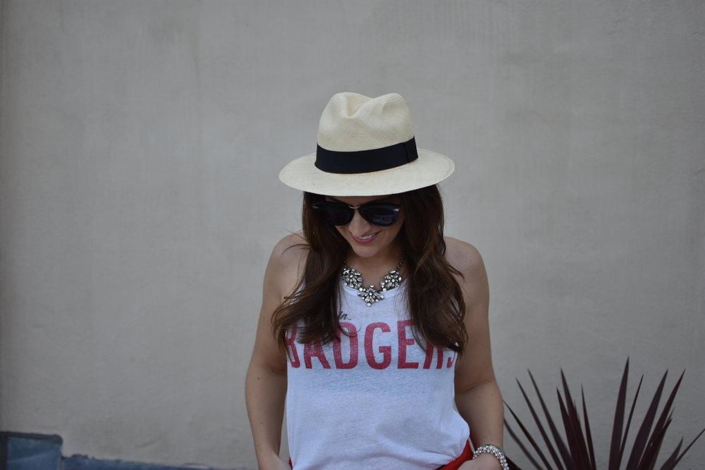 Panama hat,  J.Crew