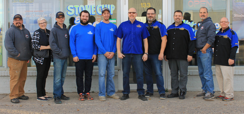 Ben's Auto & House Glass Team