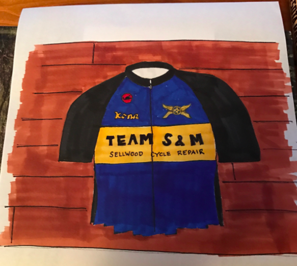 The cleanest you'll ever see an S&M jersey. By Annalisa Fish.
