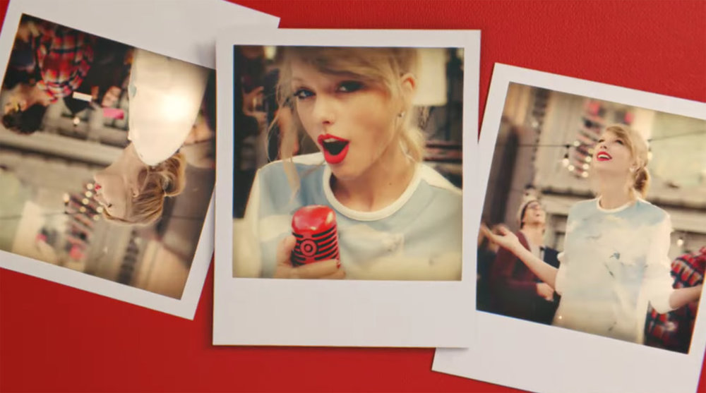 "Target + Taylor Swift (2015) ""1989 Promo"""