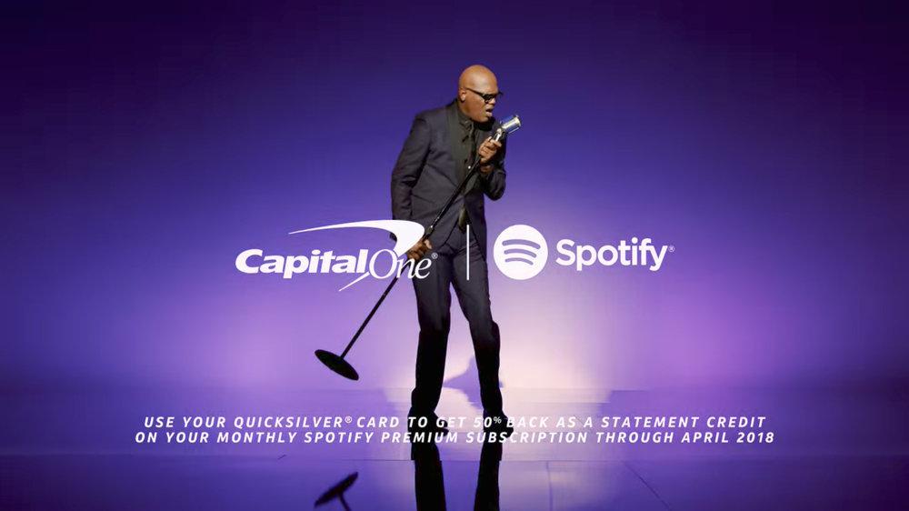 Capital One + Spotify + Samuel L. Jackson (2017)