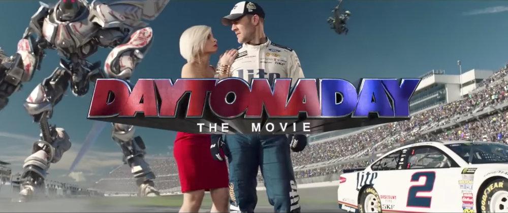 """Fox Sports 1 + NASCAR (2017) """"Daytona Day 2"""""""