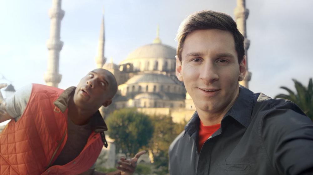 "Turkish Airlines (2013) ""Kobe vs Messi: Selfie Shootout"""
